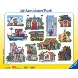 RAVENSBURGER PUZZLE 43 el GDZIE MIESZKASZ 06753