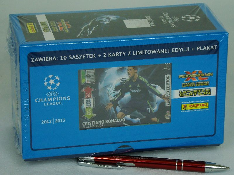 Karty  T Box Adrenalyn Xl Uefa Champions League Panini Opinie O