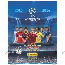 ALBUM KLASER NA KARTY ADRENALYN UEFA CHAMPIONS LEAGUE 2013 2014 PANINI
