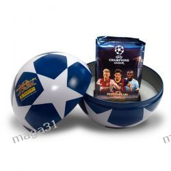 PUSZKA MET. + KARTY ADRENALYN UEFA CHAMPIONS LEAGUE 2013/2014 PANINI