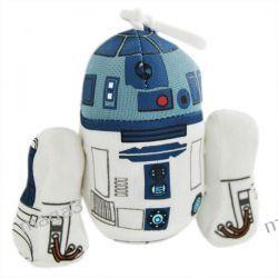 STAR WARS PLUSZOWY BRELOCZEK Z DŹWIĘKIEM R2-D2