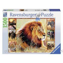 RAVENSBURGER PUZZLE 1500 AFRYKAŃSKA PRZYGODA 16320