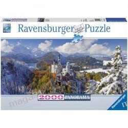 RAVENSBURGER PUZZLE 2000 PANORAMA ZAMEK NEUSCHWANSTEIN 16691