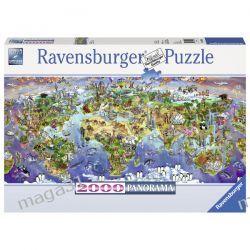 RAVENSBURGER PUZZLE 2000 PANORAMA CUDA ZIEMI 16698