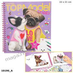 TOP MODEL SZKICOWNIK DOGGY PIESKI 10190
