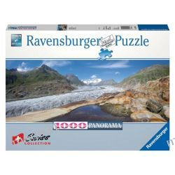 RAVENSBURGER PUZZLE 1000 PANORAMA LODOWIEC ALETSCH 19102