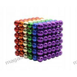 KULKI MAGNETYCZNE 5MM 216PCS NEOCUBE MAGCUBE RAINBOW