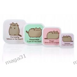 KOT PUSHEEN 4 POJEMNIKI LUNCHBOX PUSHSNK4