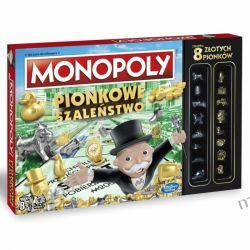 GRA MONOPOLY PIONKOWE SZALEŃSTWO HASBRO C0087