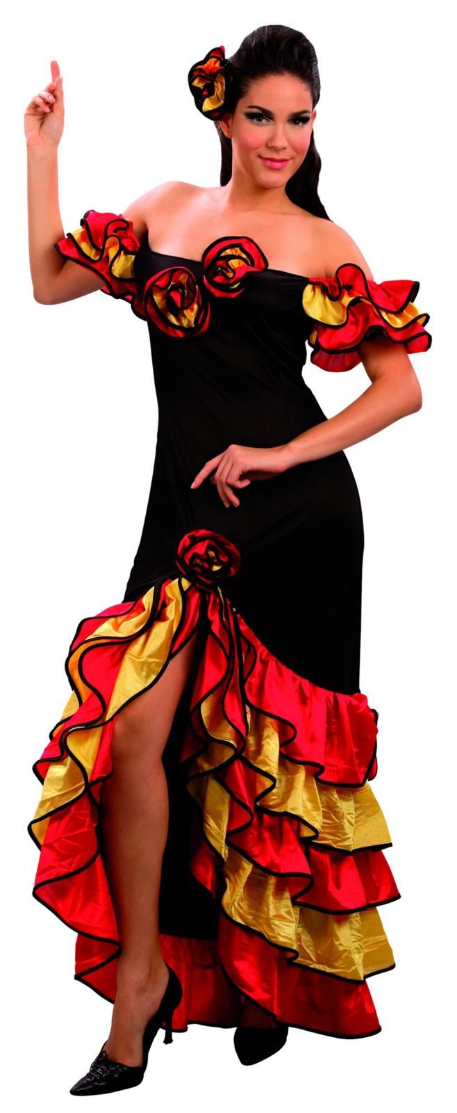Strój dla dorosłych tancerka flamenco