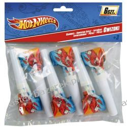 HOT WHEELS GWIZDKI 6 SZT