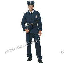 STRÓJ DLA DOROSŁYCH POLICJANT MUNDUR  Kostiumy dla chłopców