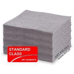 SMUN4050.100 - sorbent uniwersalny - mata średnia STANDARD 0,40m x 0,50m - 100 szt. / atest PZH