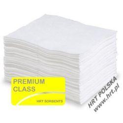 SMOG4050.100 - sorbent tylko do oleju - mata gruba PREMIUM 0,40m x 0,50m - 100 szt.