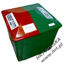 PSORB220L - dwudzielny pojemnik na sorbent 220 Litrów - 6 szt.