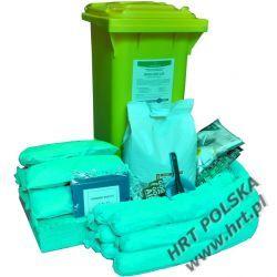 MZE-SO-240L - mobilny zestaw ekologiczny - sorbenty olejowe - 240L