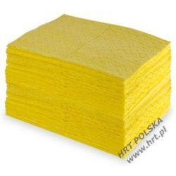 SMCH.SMS.4050.100 - sorbent chemiczny - mata średnia STANDARD trójwarstwowa 0,40m x 0,50m - 100 szt. z dwustronną warstwą SPUNBOND