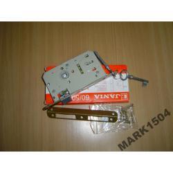 Zamek-Zamki drzwiowy wpuszczany 72/60 klucz-JANIA