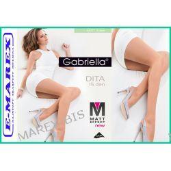 Gabriella Rajstopy Dita 15 Matt Effect Matowe