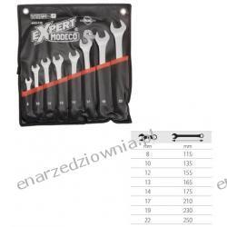 Komplet 8 kluczy odsadzanych płasko-oczkowych, MN-51-338