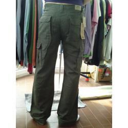 spodnie długie, lniane RIFLE
