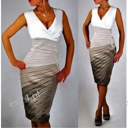 "Seksowna sukienka ""Donna""  duże rozmiary 50"