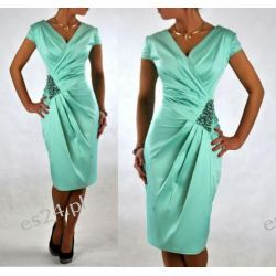 """Seksowna sukienka """"Morena"""" duże rozmiary 48"""