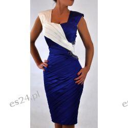"""Seksowna sukienka """"Cleo"""" duże rozmiary 44"""