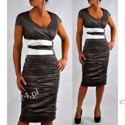 """Seksowna sukienka """"Weronika"""" duże rozmiary 44"""