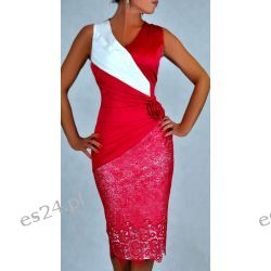 """Seksowna sukienka """"Monique"""" duże rozmiary 48"""