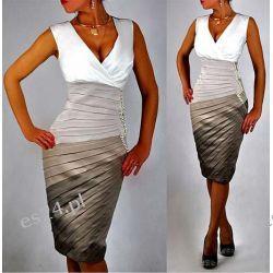 "Seksowna sukienka ""Donna""  duże rozmiary 46"