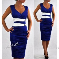 """Seksowna sukienka """"Weronika"""" duże rozmiary 48"""
