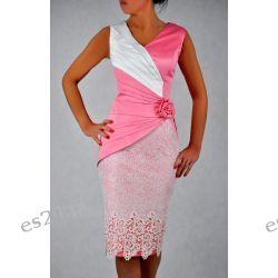 """Seksowna sukienka """"Monique"""" duże rozmiary różl 46"""