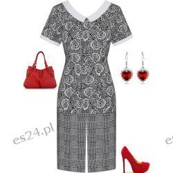 Śliczna sukienka Róża 48