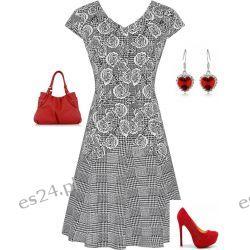 Śliczna sukienka Hania 48
