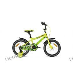 """Rower Dziecięcy Kellys Wasper Yellow 16"""" 2019r."""