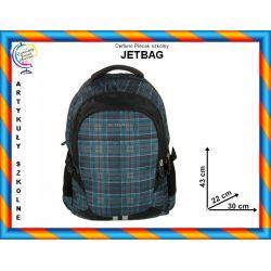 Plecak szkolny na laptop JETBAG młodzieżowy TYCHY