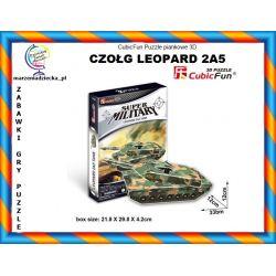 CZOŁG LEOPARD 2A5 Puzzle piankowe CubicFun TYCHY