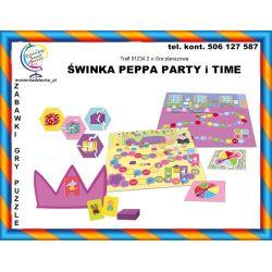 2x Gra planszowa ŚWINKA PEPPA PARTY TIME 3+ Tychy
