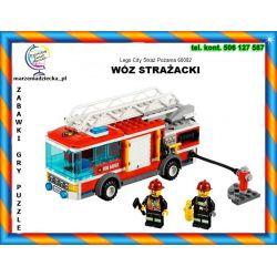 LEGO CITY 60002 WÓZ STRAŻACKI 209el Tychy