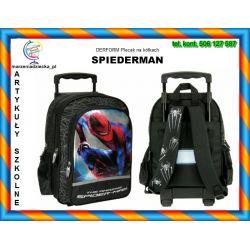 Plecak szkolny na kółkach SPIDERMAN 6+ TYCHY