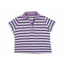 Dzianinowa bluzka polo Casual