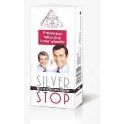 SILVER STOP- płyn przeciw siwym włosom (200ml) REMEDIUM NATURA