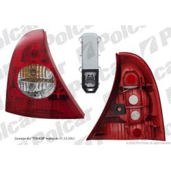 RENAULT CLIO II 01-  LAMPA TYLNA  PRAWA
