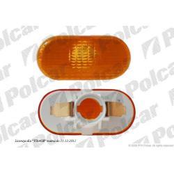 RENAULT CLIO II 01- MIGACZ BOCZNY  ŻÓŁTY