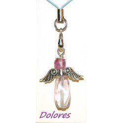 Fluorytowy aniołek - dla menedżerów - wycisza i uspokaja Na rękę