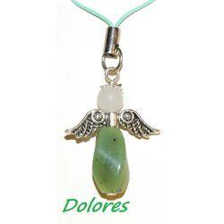 Nefrytowy aniołek - ochrona, szczęście i długowieczność Na rękę