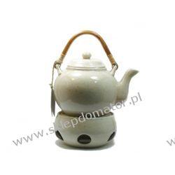 Dzbanek z podgrzewaczem - 1.1 litra - marmurek - Herbata GRATIS!!!
