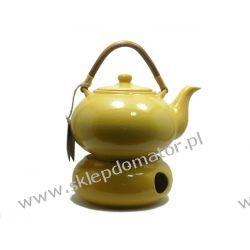 Dzbanek z podgrzewaczem - 1.7 litra - miodowy - Herbata GRATIS!!!