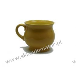 Kubek ceramiczny - miodowy